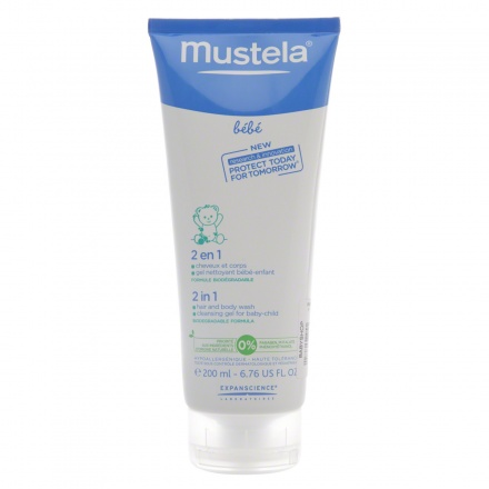 Mustela Two In One Hair And Body Wash