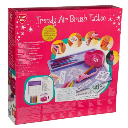 Playgo Trendy Air Brush Tattoo