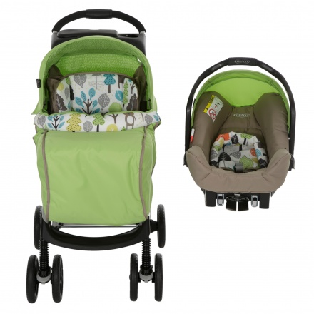 Graco Mirage Printed Travel System