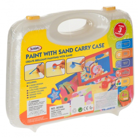 Juniors Sand Art Carry Case