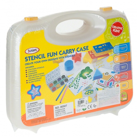 Juniors Stencil Fun Carry Case