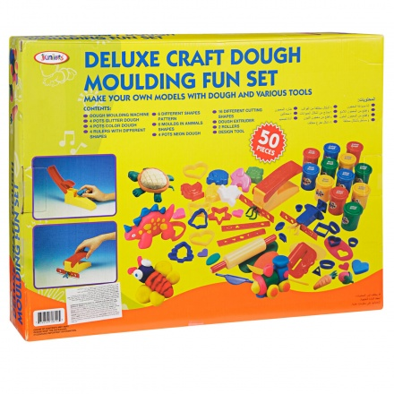 Juniors Deluxe Craft Dough Moulding Fun Set
