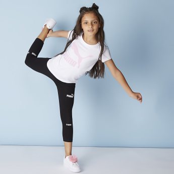 PUMA Amplified Printed Leggings with Elasticated Waistband