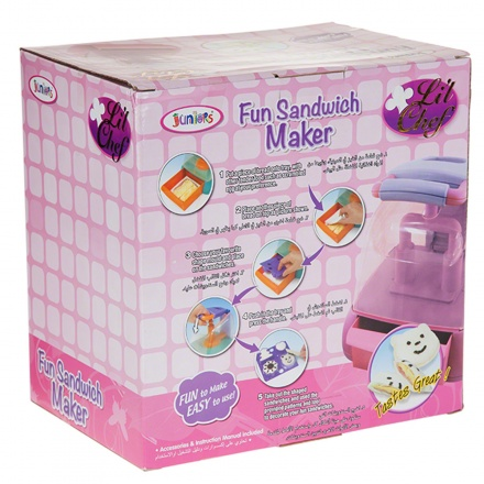 Juniors Fun Sandwich Maker