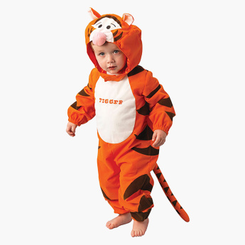 Rubie's Tigger Jumpsuit with Detachable Padded Head