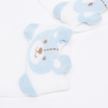 Juniors Textured Mittens