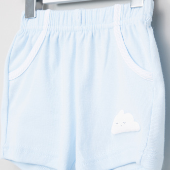 Juniors Pocket and Patch Detail Shorts with Elasticised Waistband