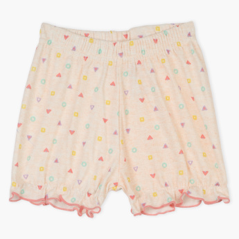 Juniors Printed Shorts