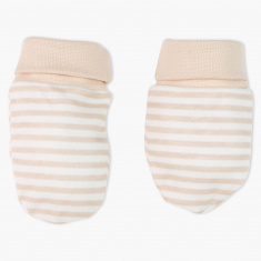 Juniors Striped Booties