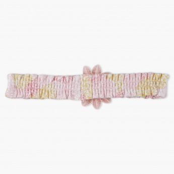 Juniors Printed Applique Headband