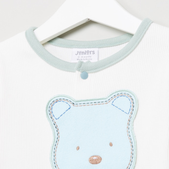 Juniors Shirt and Printed Pyjama Set