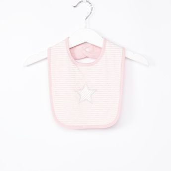 Juniors Striped and Star Printed Bib