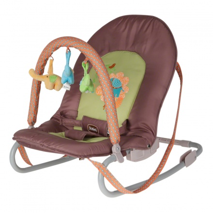 Juniors Silt Elephant Baby Rocker