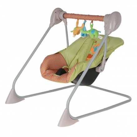 Juniors Echo Elephant Print Baby Swing