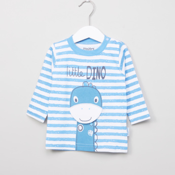 Applique Detail T-Shirt and Pyjama Set