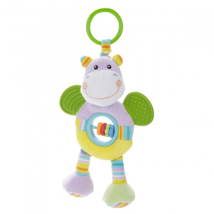 Juniors Jungle Pals Teether and Beads Rattle