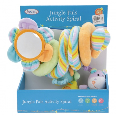 Juniors Jungle Pals Activity Spiral