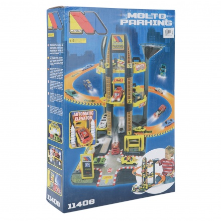 Molto Parking 3-storey Vehicle Set