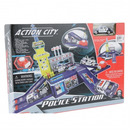 Realtoy Action City Police Station Play Set