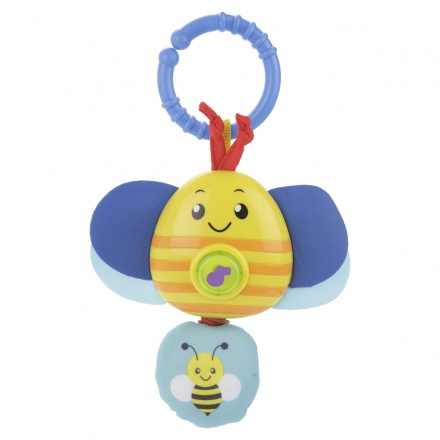 Juniors Wriggle'n Giggle Musical Bee Rattle