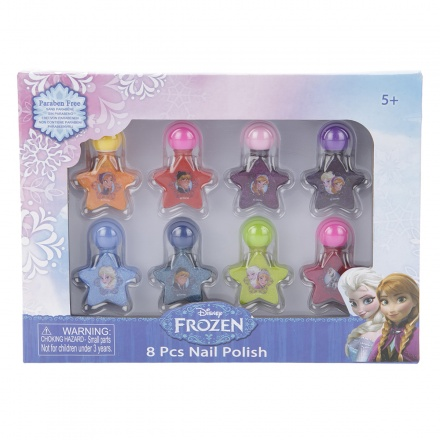 Frozen Nail Polish - Set of 8