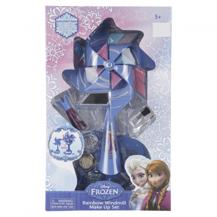 Frozen Rainbow Windmill Make Up Set