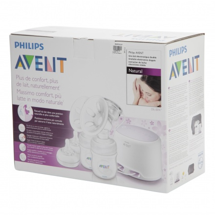 Philips Avent Twin Electric Breast Pump + Free DECT Baby Monitor worth AED 529