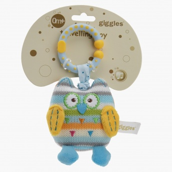 Giggles Owl Plush Toy