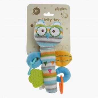 Giggles Owl Rattle Toy