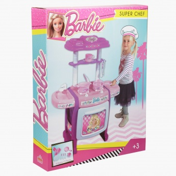 Barbie Super Chef Kitchen Play Set