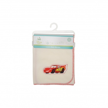 Cars Printed Baby Blanket - 76 x 102 cms