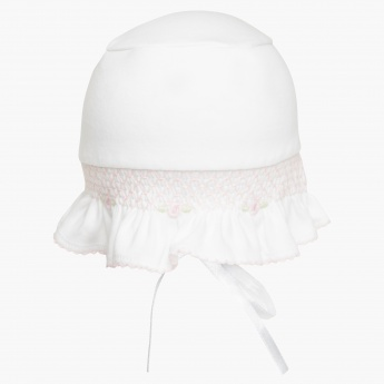 Juniors Embellished Bonnet