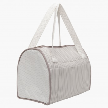 Juniors Striped Diaper Bag