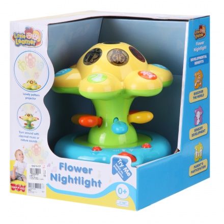 Happy Kid Flower Nightlight
