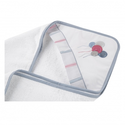 Juniors Hooded Towel - 80x80 cms
