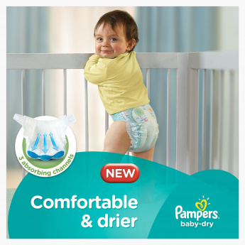 Pampers Baby-Dry Junior 38-Piece Diaper Value Pack