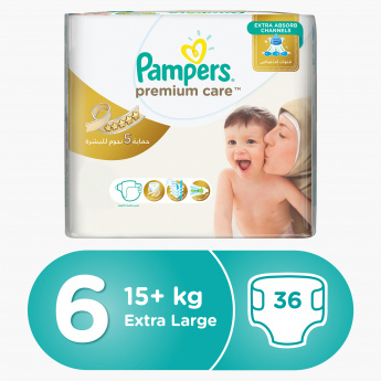Pampers Premium Care Extra Large 36-Piece Diaper Pack