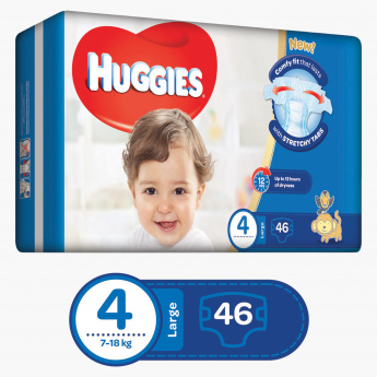 Huggies Superflex Econ Large Diapers - Pack of 46