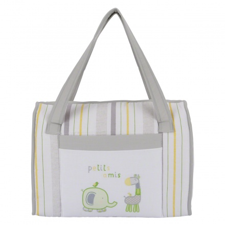 Juniors Embroidered Diaper Bag