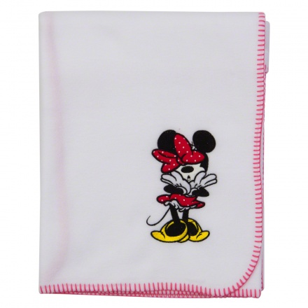 Minnie Mouse Fleece Blanket - 76x102 cms