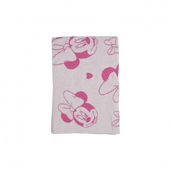 Minnie Mouse Print Blanket