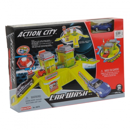 Action City Car Wash Playset