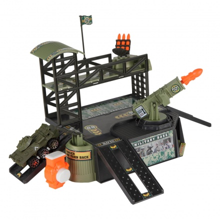 Action City Command Base Playset