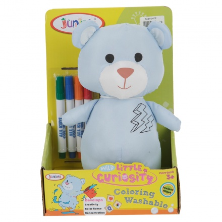 Juniors Washable Colouring Bear