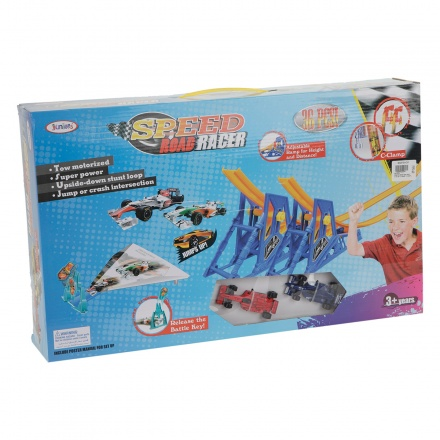 Juniors Speed Road Racer Track Set - 36 Pieces