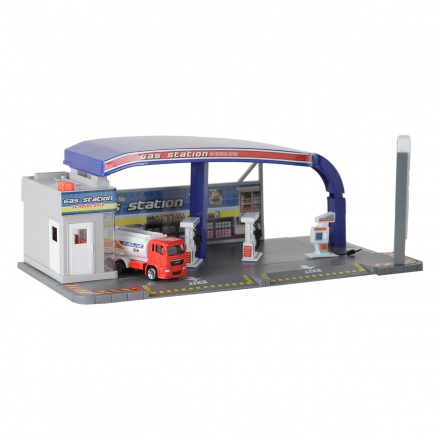 Action City Gas Station Playset