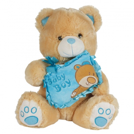 Juniors Baby Boy Teddy Bear