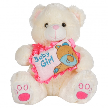Juniors Baby Girl Teddy Bear