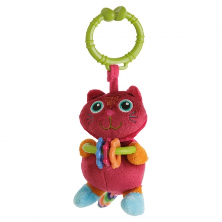 Oops Toys Plush Cat Rattle