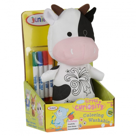 Juniors Washable Colouring Cow